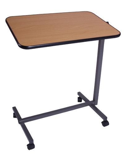 Table de lit d 39 hopital mobile avec plateau r glable multi - Plateau de table pour defonceuse ...